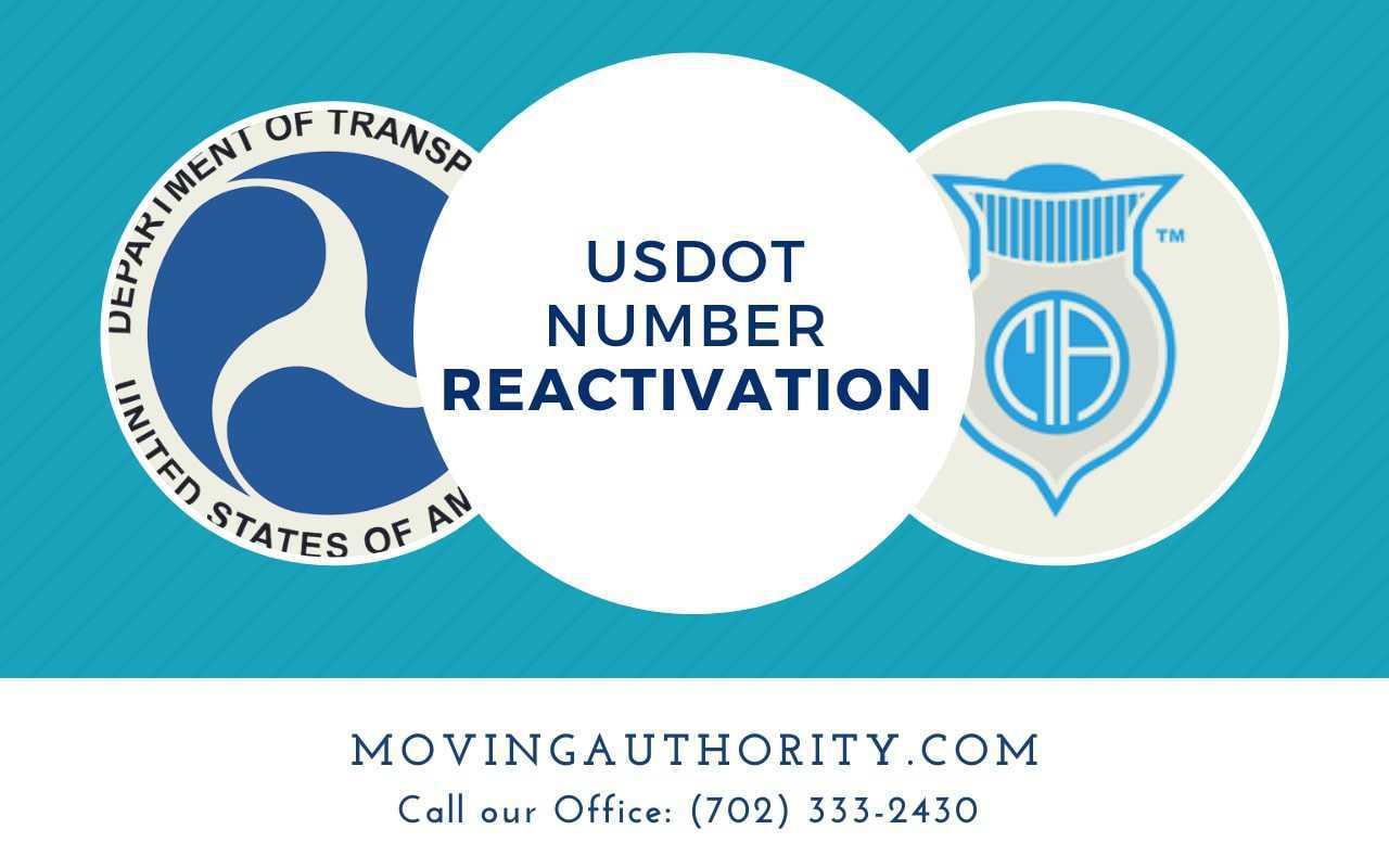 USDOT Number Reactivation