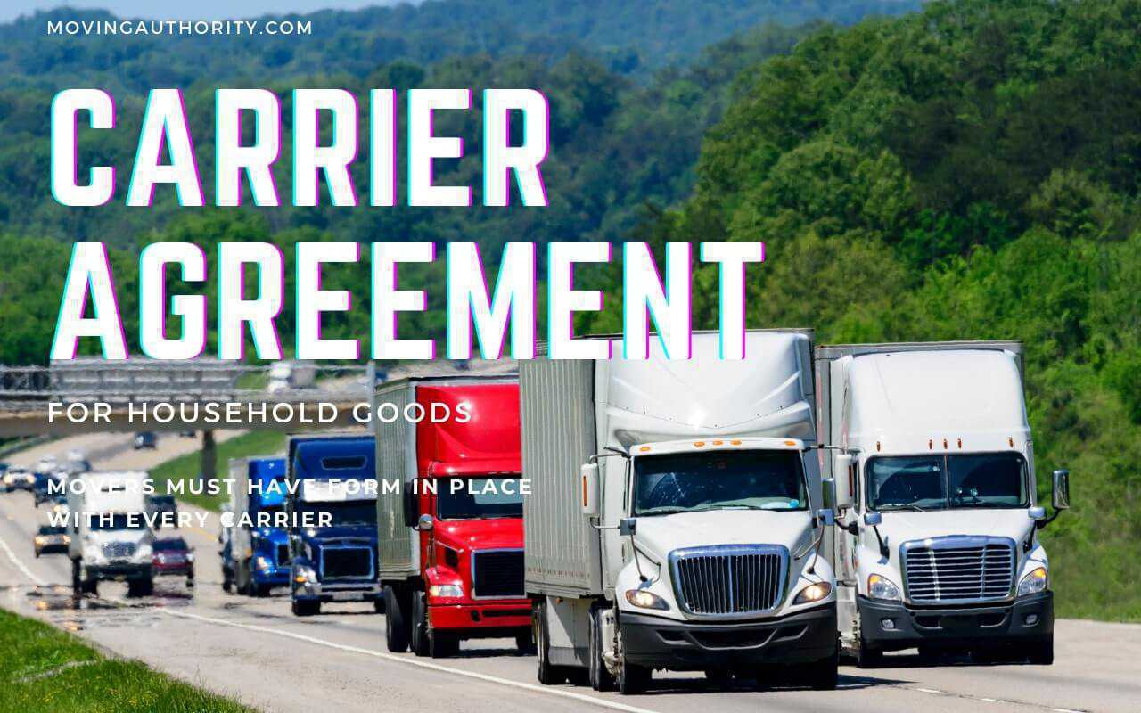 Carrier Agreement