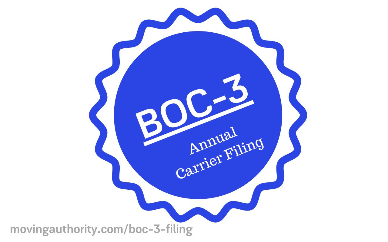 BOC-3 Filing