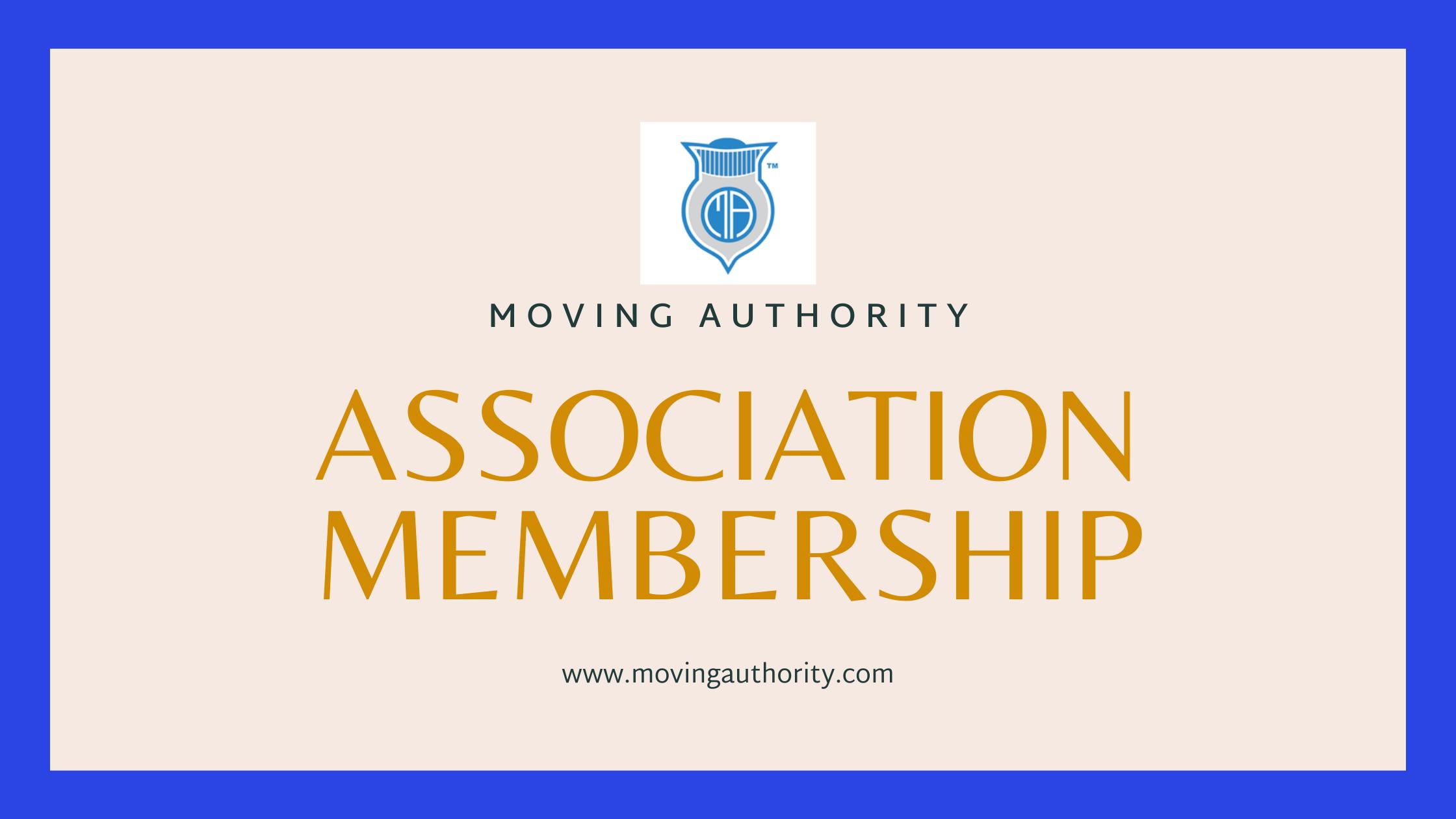 Movers Association Membership