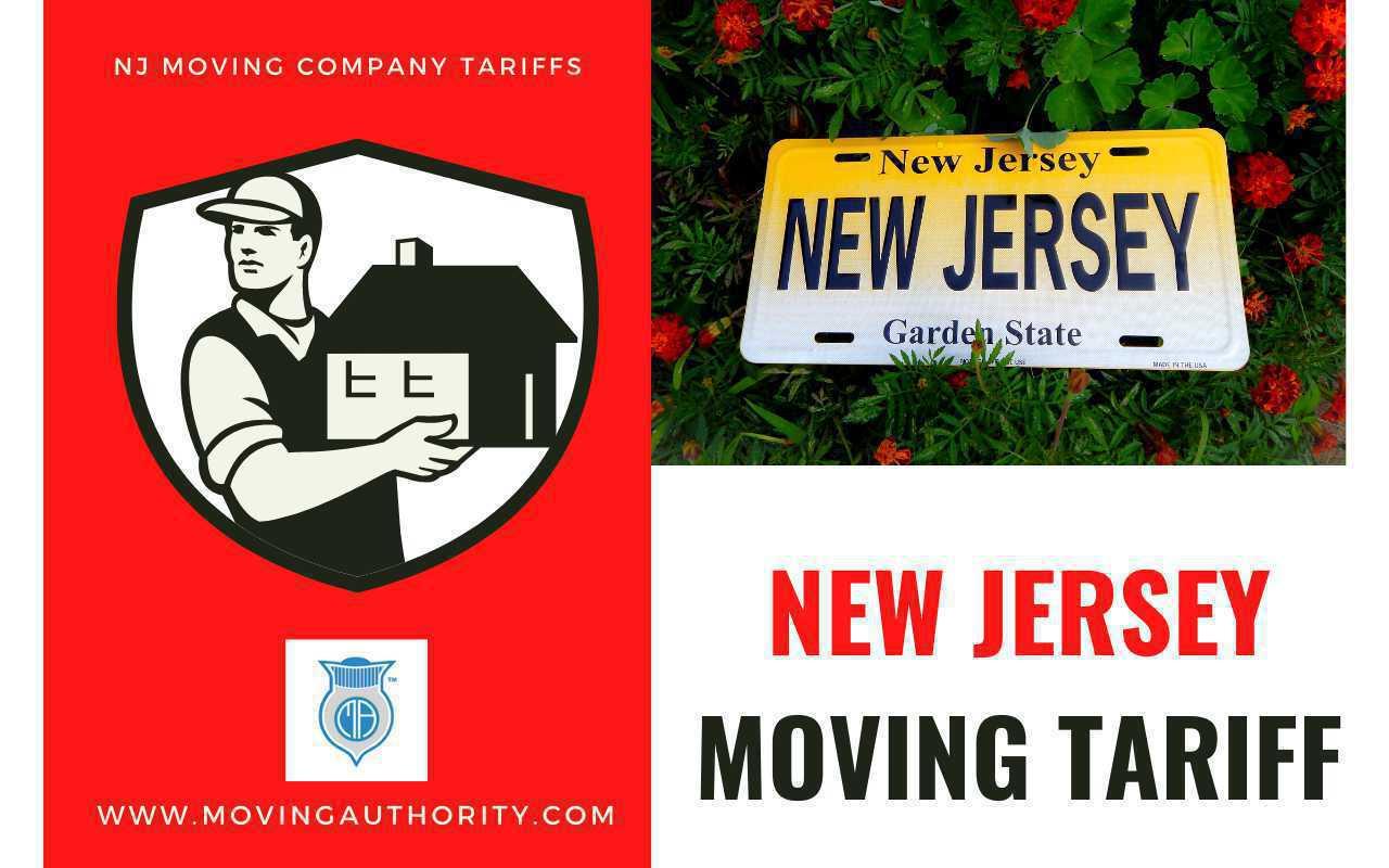 New Jersey Moving Company Tariffs