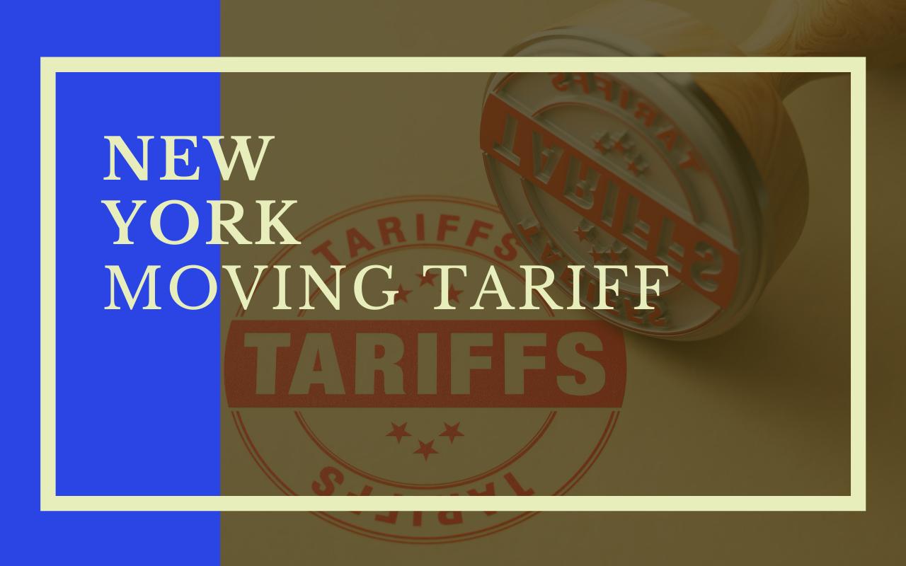 New York Moving Tariff