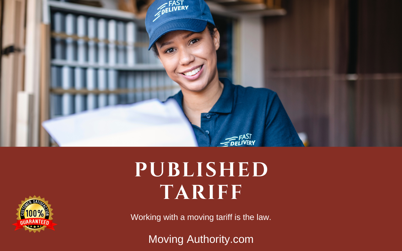 Published Tariff