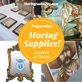 Artwork pack and Moving Supplies