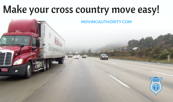easy cross country move