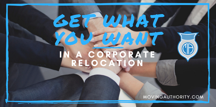 getting what you want from a corporate relocation