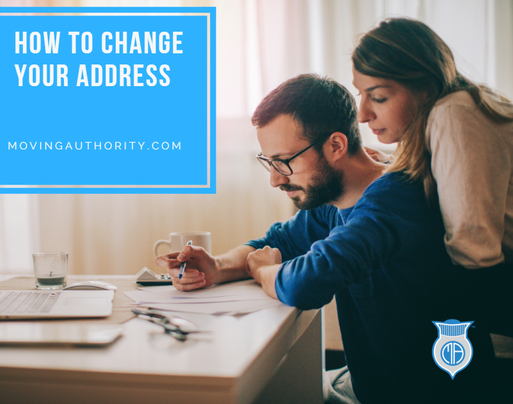 how to change your address