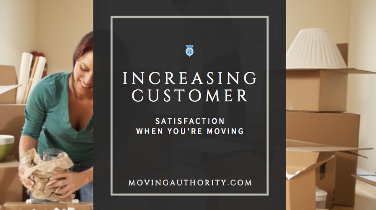 increasing customer satisfaction moving
