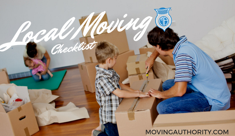 local moving checklist