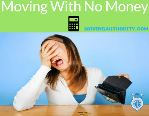 Moving with no money