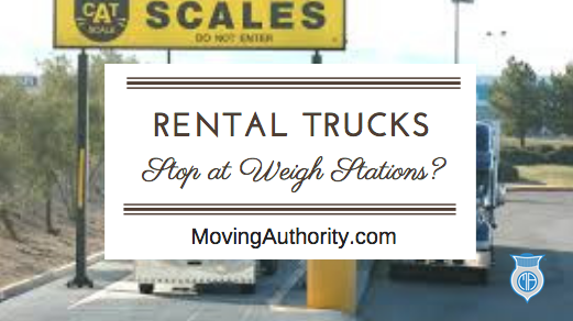 Rental must stop at weigh stations