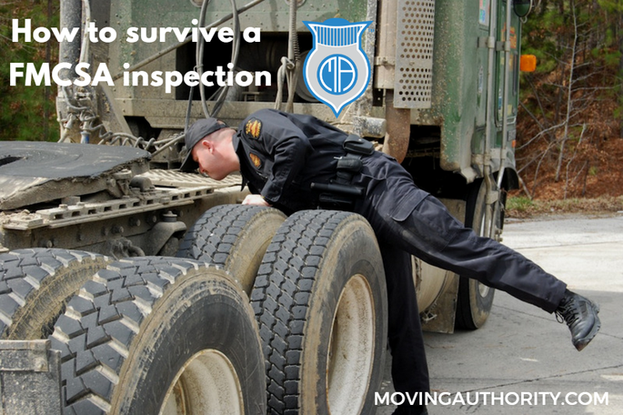 Survive a FMCSA inspection