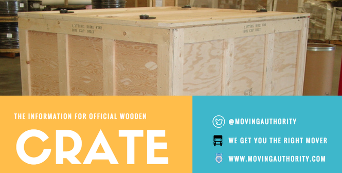 Wooden Moving Crates