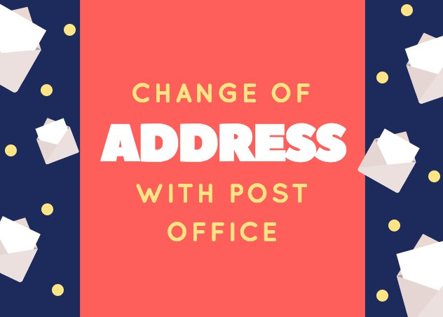 change your address