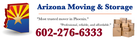 Arizona moving storage az