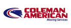 Coleman american moving