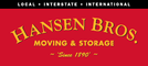 Hansen bros moving