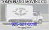 Tom piano moving
