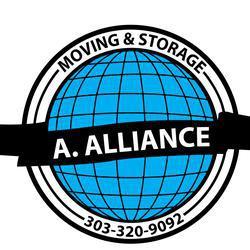A Alliance Moving company logo