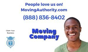 Above The Best Movers and Cleaners company logo