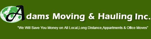 Adam's Moving & Hauling, Inc reviews