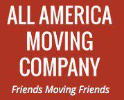 All America Moving logo