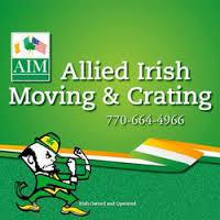 Allied Irish Moving company logo