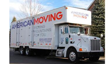 American Moving company logo
