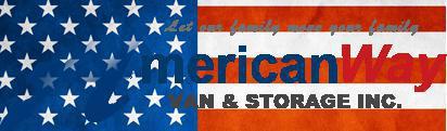 American Way Van & Storage company logo