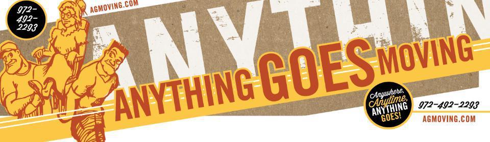 Anything Goes Moving company logo