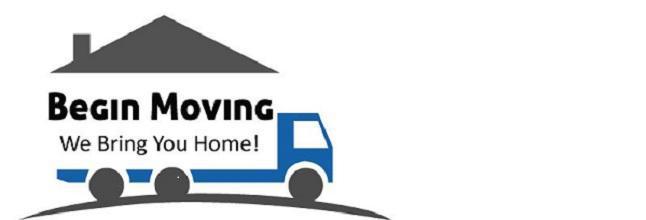 Begin Moving company logo