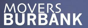 Burbank Movers company logo