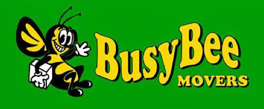 Busy Bee Movers company logo