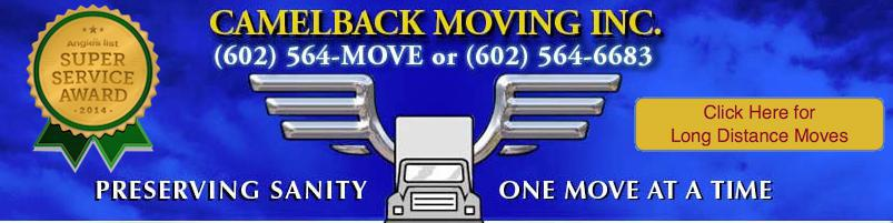 Camelback Moving logo