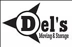Del's Moving company logo