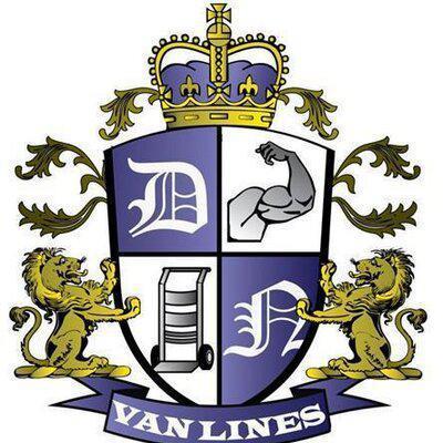 DN Van Lines Moving company logo