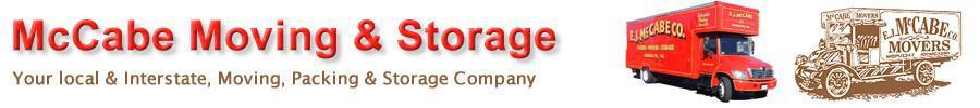 Edward J McCabe Moving company logo