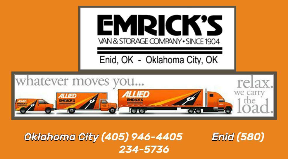 Emrick's Van & Storage Company reviews
