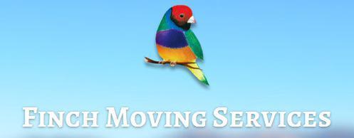 Finch Moving company logo