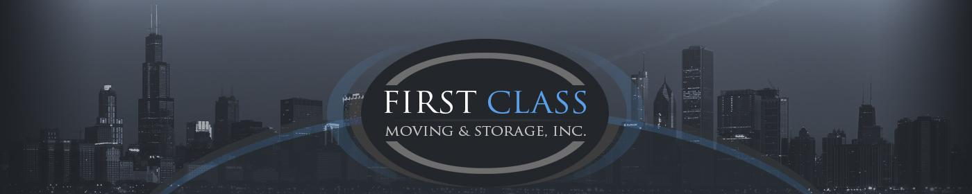 First Class Moving & Storage company logo
