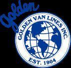 Golden Van Lines company logo