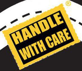 Handle with Care Moving company logo