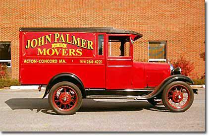 John Palmer Moving & Storage company logo