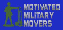 Motivated Military Movers company logo