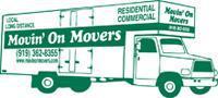 Movin On Movers company logo
