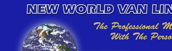 New World Van Lines of California company logo