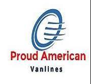 Proud American Van Lines company logo