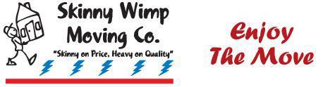 Skinny Wimp Moving MN company logo