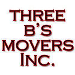 Three B's Movers company logo