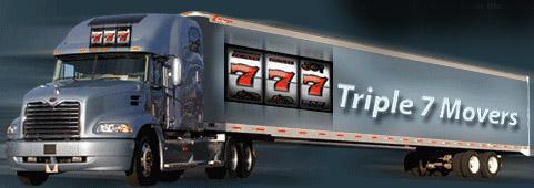 Triple 7 Movers company logo